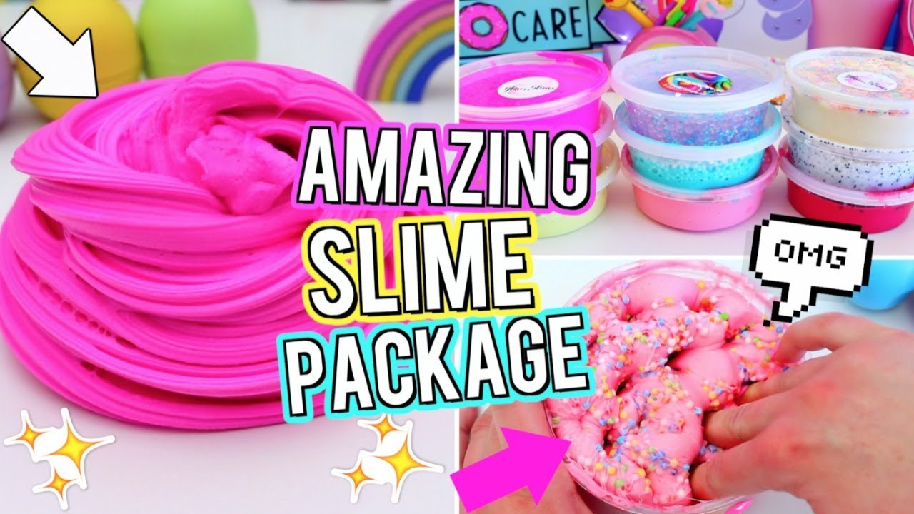 Huge slime package unboxing is it worth the money testing huge slime package unboxing is it worth the money testing instagram slime i bought online gillian bower ccuart Image collections