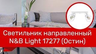 Светильник направленный NB LIGHT 17277 (NB LIGHT 30908-cl349-pla000-cp000 Остин) обзор