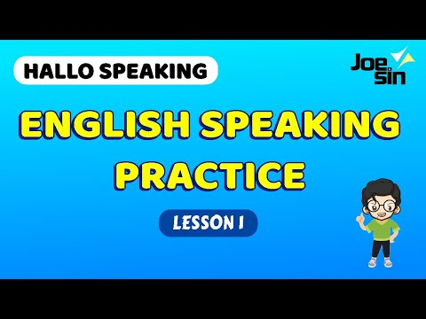 Speaking Practice With Subtitle And Conversation | Lesson 1 | Belajar Speaking