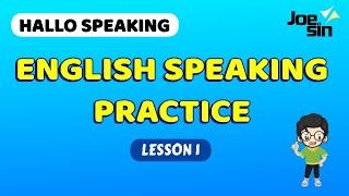 Download lagu Speaking Practice With Subtitle and Conversation | Lesson 1 | Belajar Speaking
