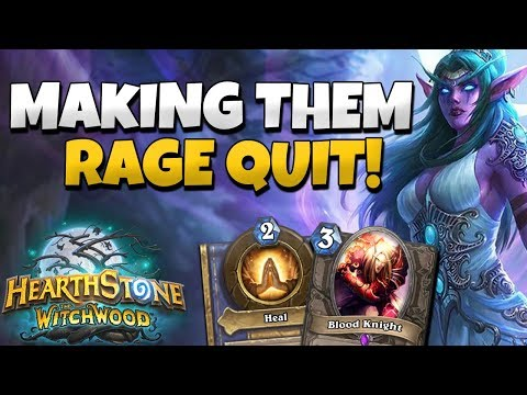 HOW TO MAKE AGGRO HUNTERS CONCEDE EVERY TIME - ODD PRIEST DECK COMMENTARY