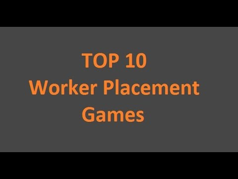 DiceTillDawn TOP 10 - Worker Placement