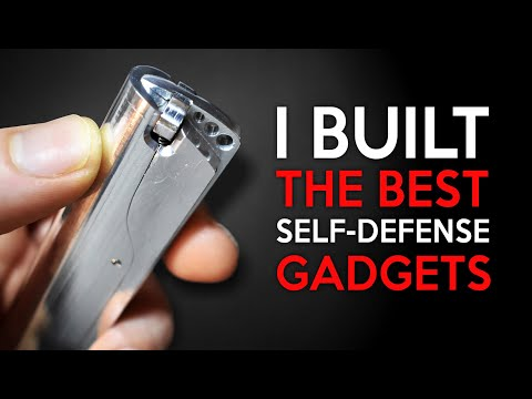 I Build a New Self Defense Gadgets, The Best One ( Legal pepper )