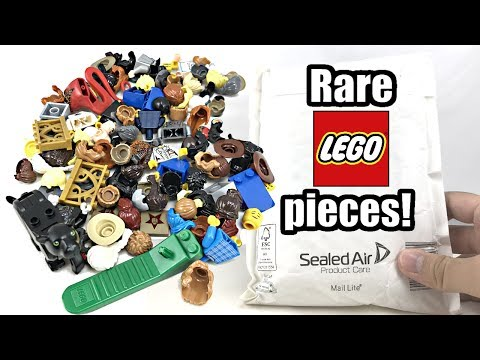 More RARE LEGO Pieces From LEGO! $60 Bricks And Pieces Haul!