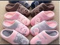 Women Winter Home Slippers Cartoon Cat Home Shoes Non slip