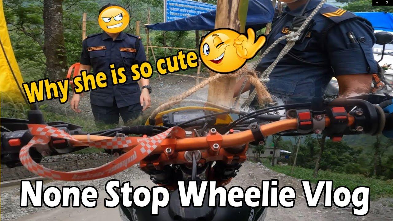 Off Road wheelie Village to Beni || MRB Vlog
