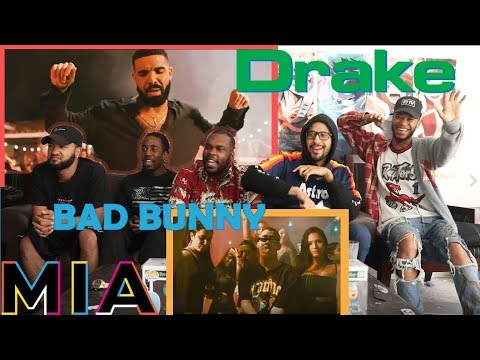 Bad Bunny Ft Drake - Mia (Video Official) REACTION/REVIEW