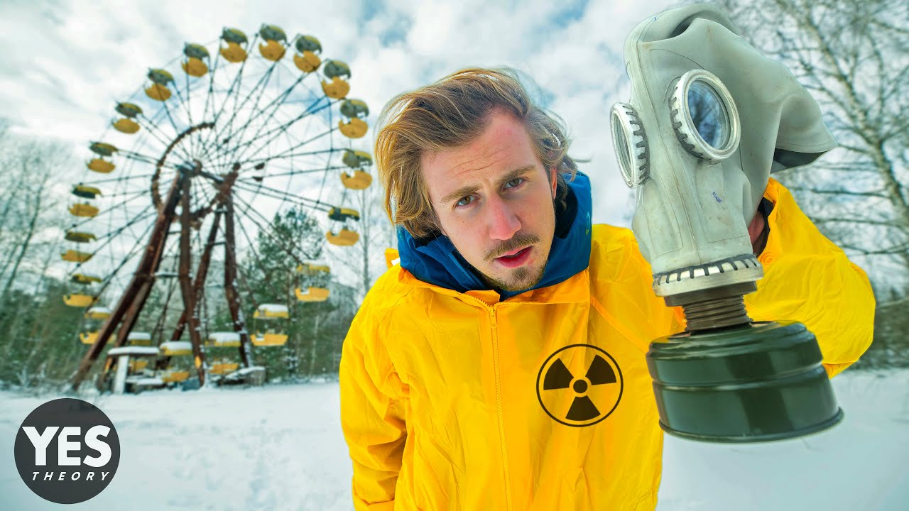 50 Hours Inside the Most Radioactive Place On Earth (Exclusion Zone of Chernobyl)