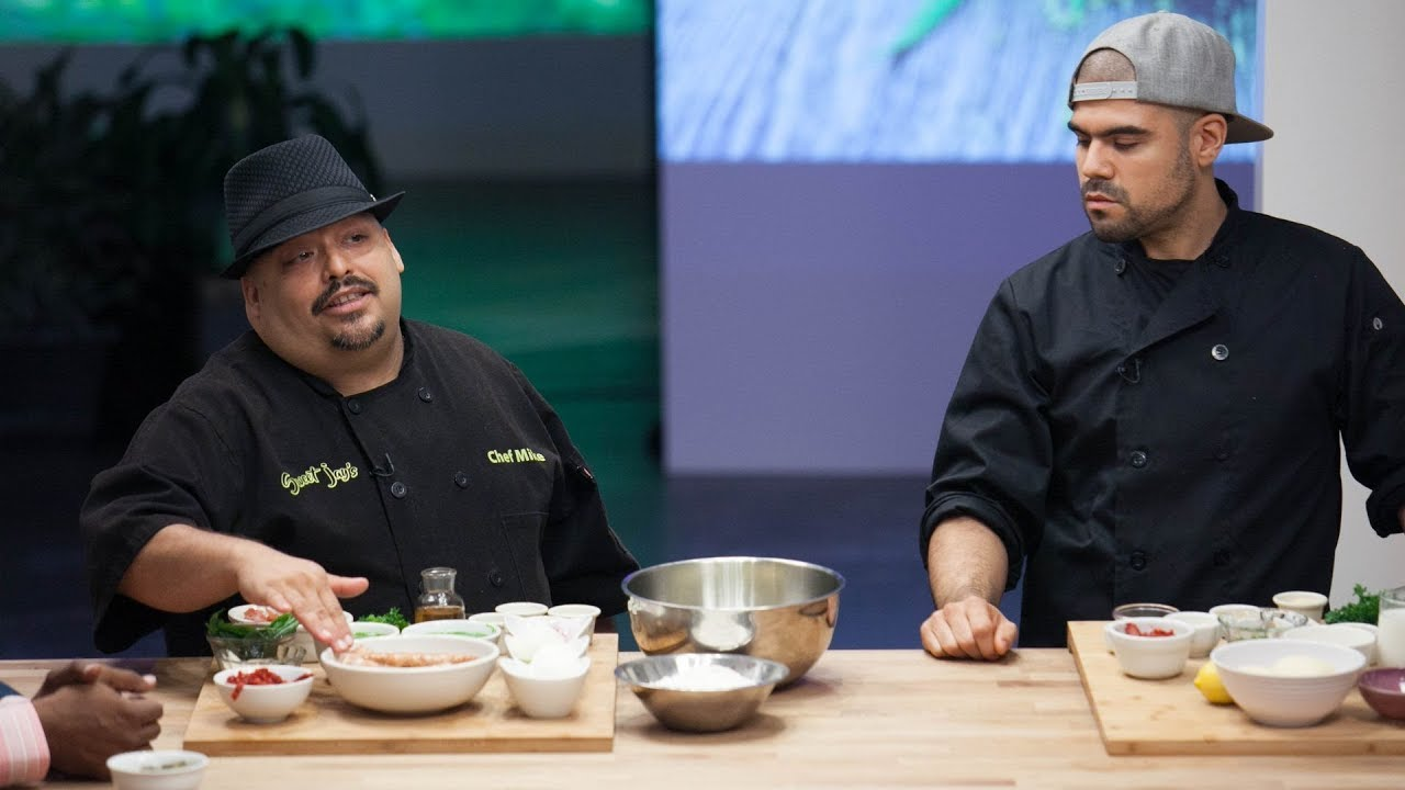 Chef Mike DeLao on NETFLIX - Cooking on High - YouTube