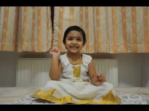 Achamillai Achamillai Bharathiyar Song by Vanshika VinothKumar