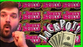MYSTERY PICK LEADS To AN AMAZING UPGRADE on Sweet Skulls Slot Machine! 💰 MAX BET Bonuses! SDGuy1234