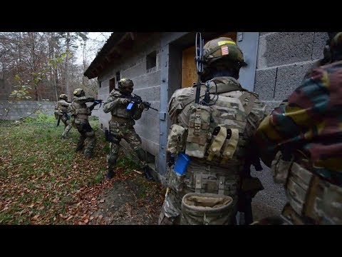 International Special Forces CQB Training In Europe
