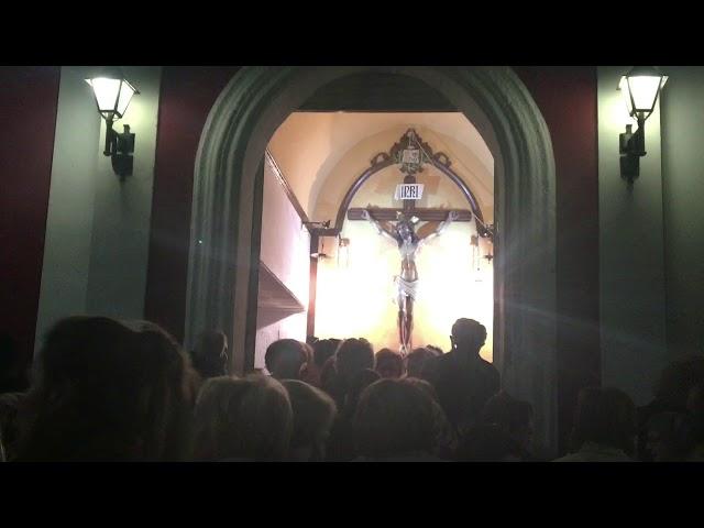 Bajada Cristo de la Santa Cruz #Aspe 2020