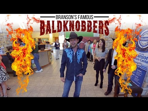 The Baldknobbers performing at Branson Tourism Center - Branson Webcam