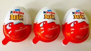3  Surprise Eggs überraschungseier...