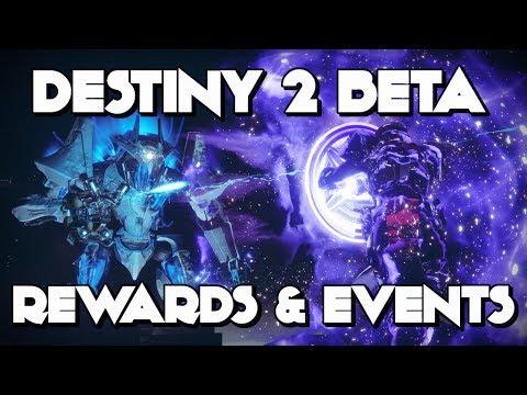 Destiny 2 Beta Rewards