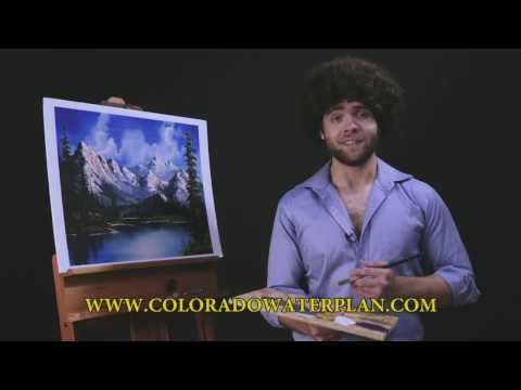 Painting Colorado Watersheds with Bob Ross
