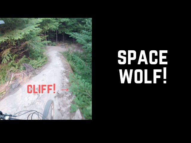 The steepest trail on Galbraith!