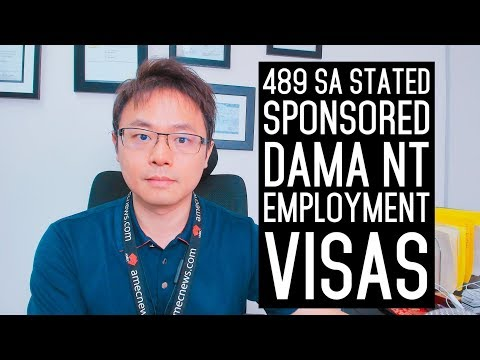 489 High Performer Graduate and DAMA NT Sponsorship Visas 2019 - YouTube