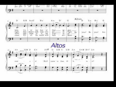 SATB - O Come, O Come, Emmanuel - YouTube