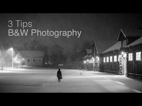 3 Quick Tips on Black & White Photography