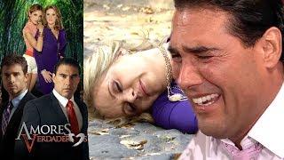 Amores Verdaderos: ¡Arriaga recibe la noticia de que Victoria fue asesinada! | Escena - C55