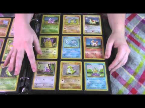 ASMR Pokemon Card Collection