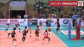 NEC Red Rockets [JPN] Mizuki YANAGITA - 2016 AVC Women's Club Volleyball Champions
