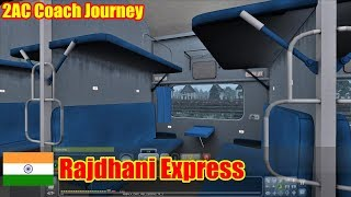 Railworks Train Simulator 2018 || RAJDHANI EXPRESS JOURNEY