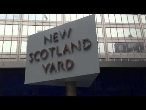London Trip, Visit To New Scotland Yard.