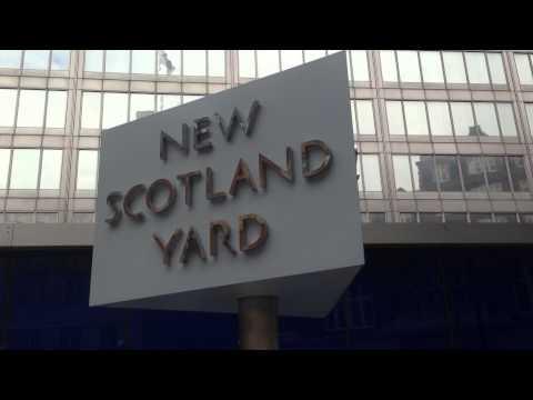 London Trip, Visit To New Scotland Yard.