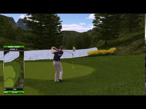 Golden Tee Replay On Elkhorn Ridge.