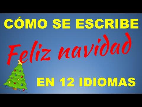 Como Decir Feliz Navidad En Holandes.Como Se Escribe Feliz Navidad En 12 Idiomas Youtube