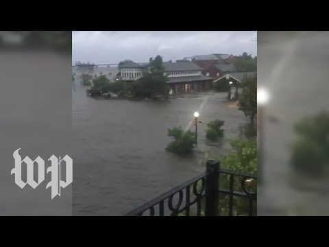 Hurricane Florence makes landfall: Capital Weather Gang's forecast