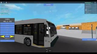 ROBLOX SUBWAY TESTING BUS DRIVER