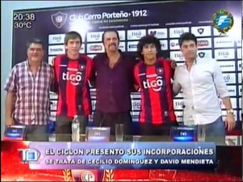 Cerro Porteño presentó sus incorporaciones al plantel azulgrana - 19/12/2014