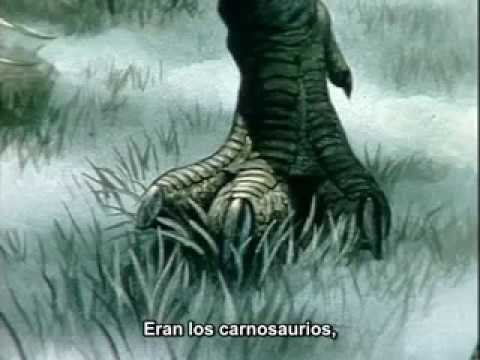Mundo paleolitico -01- Carnosaurios depredadores del pasado (subtitulado)