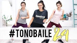 TONOBAILE 24   Ejercicios de cardio bailando