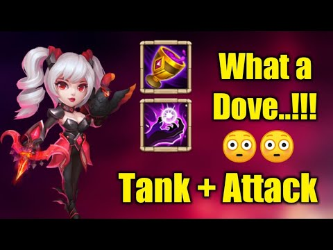 Dove | 10/10 Vampiric Grail | 7/7 Spectral Hold | Wht A Build.... !! | TANK + ATTACK | Castle Clash