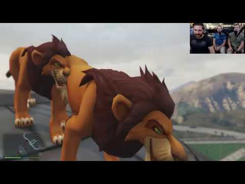 GTA 5 Mods with LION KING LIVE!  - Streamed live on Mar 10, 2017