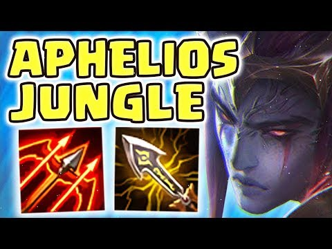 NEW NIGHTBRINGER APHELIOS JUNGLE SPOTLIGHT | INSANE DAMAGE & ULTIMATE RANGE!