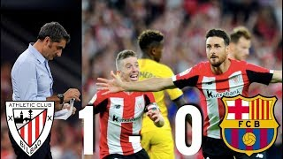Athletic Club vs Barcelona [1-0], La Liga 2019/2020 - MATCH REVIEW