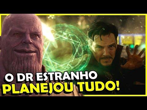 VINGADORES, TUDO É PARTE DO PLANO DO DR ESTRANHO!