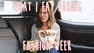 Fashion - What I Eat During Fashion Week | Song of Style