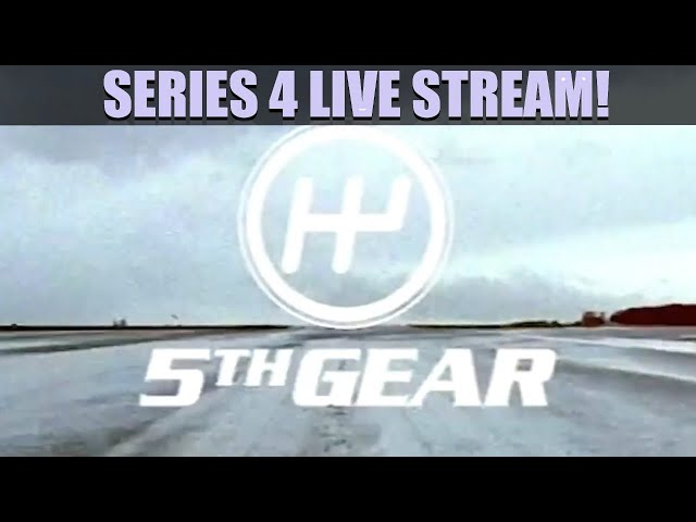 Fifth Gear - COMPLETE Series 4 Live Stream Marathon
