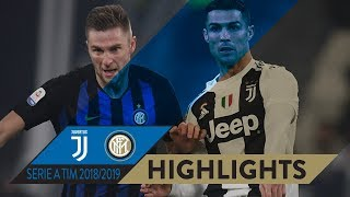 JUVENTUS 1-0 INTER | HIGHLIGHTS | Matchday 15 Serie A TIM 2018/19