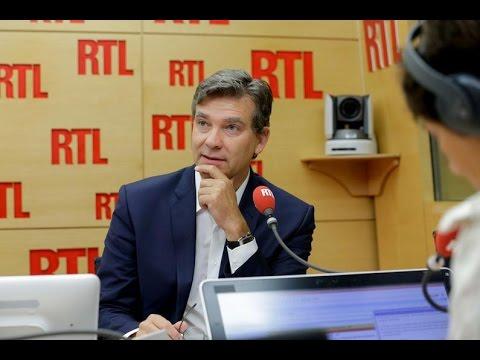 Arnaud Montebourg, invité de RTL le 30 août 2016