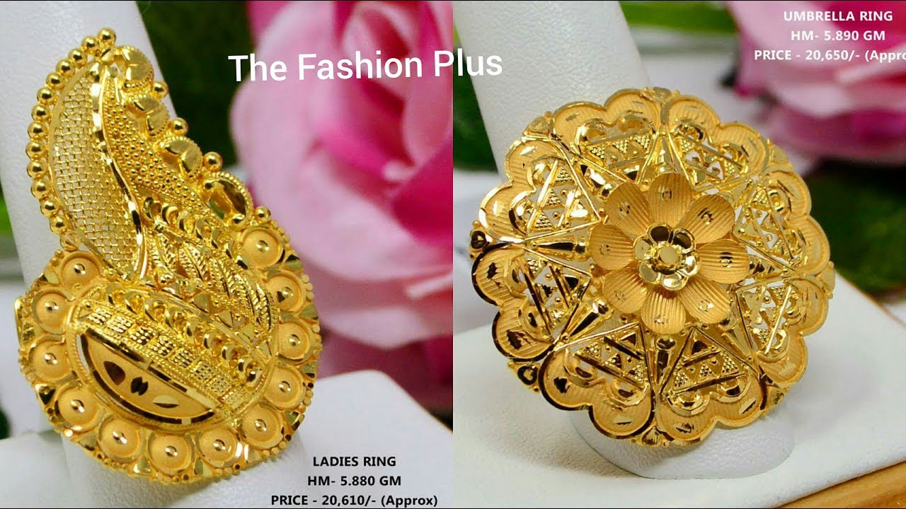 Latest Gold Ring Designs With Weight And Price Youtube