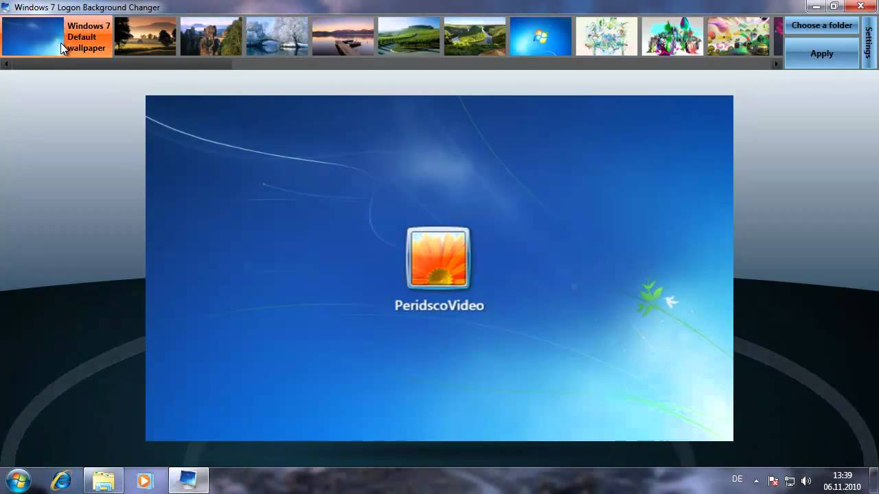 Windows Startbilder
