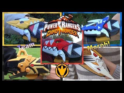 Team Morph (Power Rangers Dino Thunder) *Retro Style / Fan Tribute*
